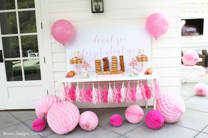 Donut Forget About Me Graduation Party on Kara's Party Ideas | KarasPartyIdeas.com (13)