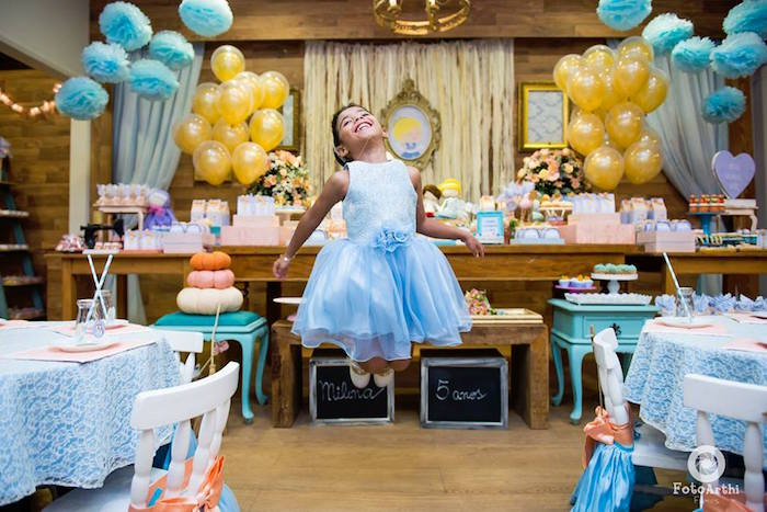 Dreamy Cinderella Birthday Party on Kara's Party Ideas | KarasPartyIdeas.com (6)