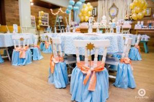 Guest tables from a Dreamy Cinderella Birthday Party on Kara's Party Ideas | KarasPartyIdeas.com (5)