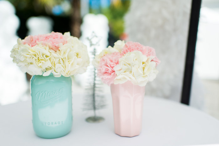Blooms from an Elegant Frozen Birthday Party on Kara's Party Ideas | KarasPartyIdeas.com (40)