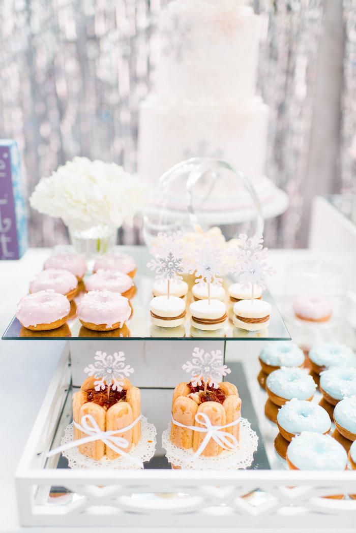 Desserts from an Elegant Frozen Birthday Party on Kara's Party Ideas | KarasPartyIdeas.com (36)