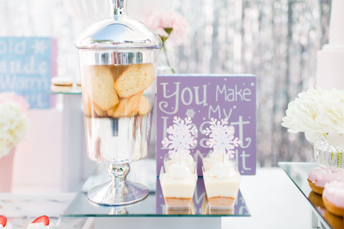 Sweets from an Elegant Frozen Birthday Party on Kara's Party Ideas | KarasPartyIdeas.com (33)