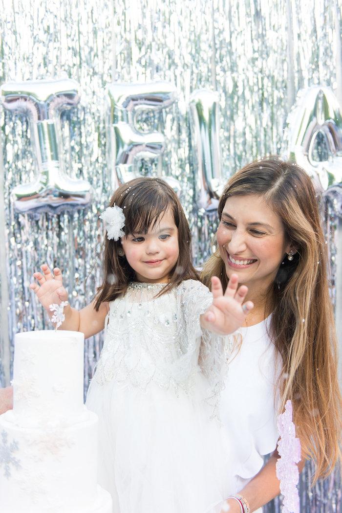 Elegant Frozen Birthday Party on Kara's Party Ideas | KarasPartyIdeas.com (50)