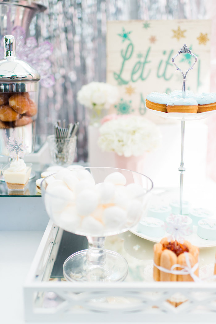 Sweets from an Elegant Frozen Birthday Party on Kara's Party Ideas | KarasPartyIdeas.com (29)