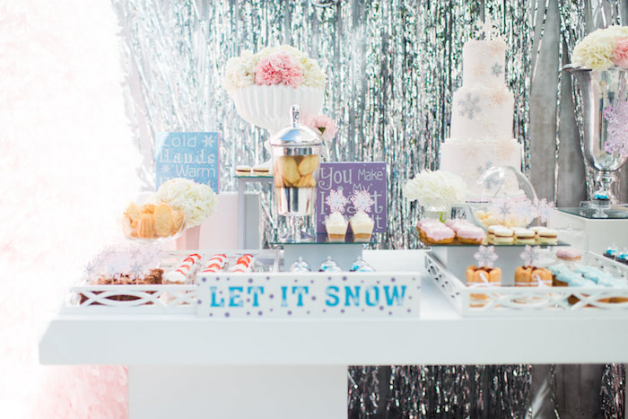 Elegant Frozen Birthday Party on Kara's Party Ideas | KarasPartyIdeas.com (26)