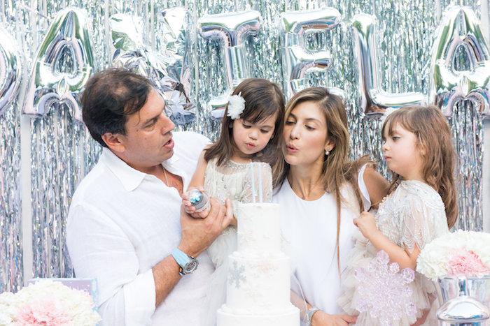 Elegant Frozen Birthday Party on Kara's Party Ideas | KarasPartyIdeas.com (5)