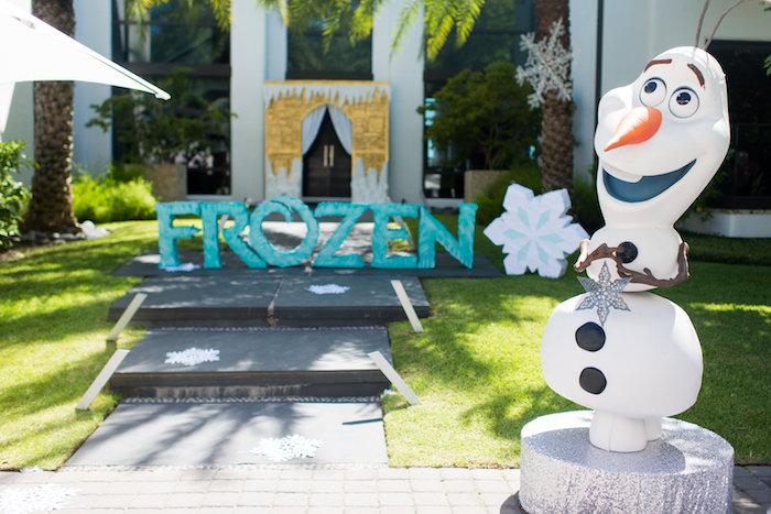 Elegant Frozen Birthday Party on Kara's Party Ideas | KarasPartyIdeas.com (47)