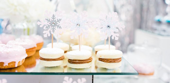 Elegant Frozen Birthday Party on Kara's Party Ideas | KarasPartyIdeas.com (1)
