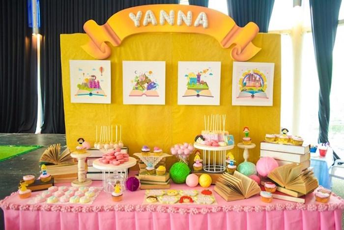 Fairytale Princess Birthday Party on Kara's Party Ideas | KarasPartyIdeas.com (16)