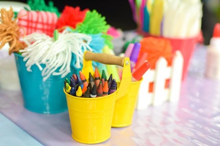 Fairytale Princess Birthday Party on Kara's Party Ideas | KarasPartyIdeas.com (15)