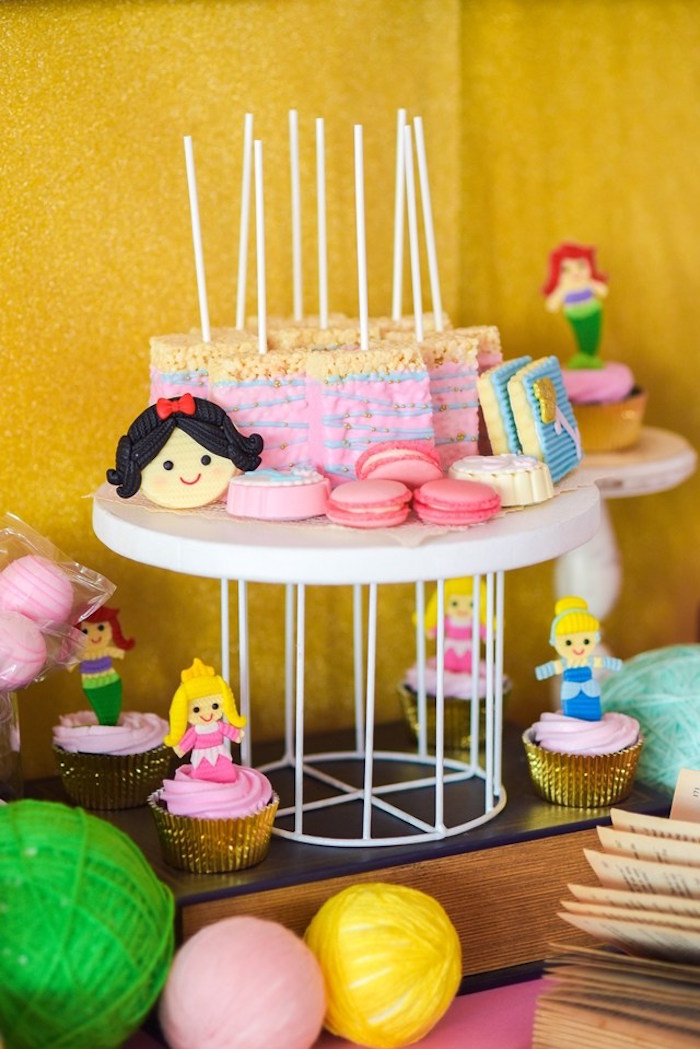 Fairytale Princess Birthday Party on Kara's Party Ideas | KarasPartyIdeas.com (10)