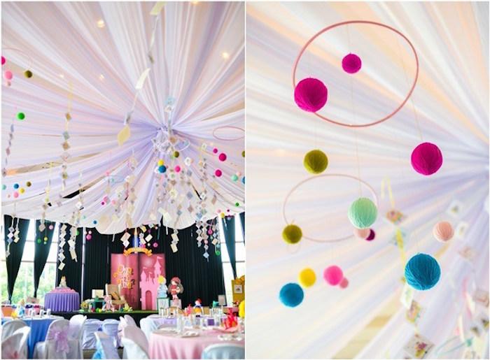 Fairytale Princess Birthday Party on Kara's Party Ideas | KarasPartyIdeas.com (8)