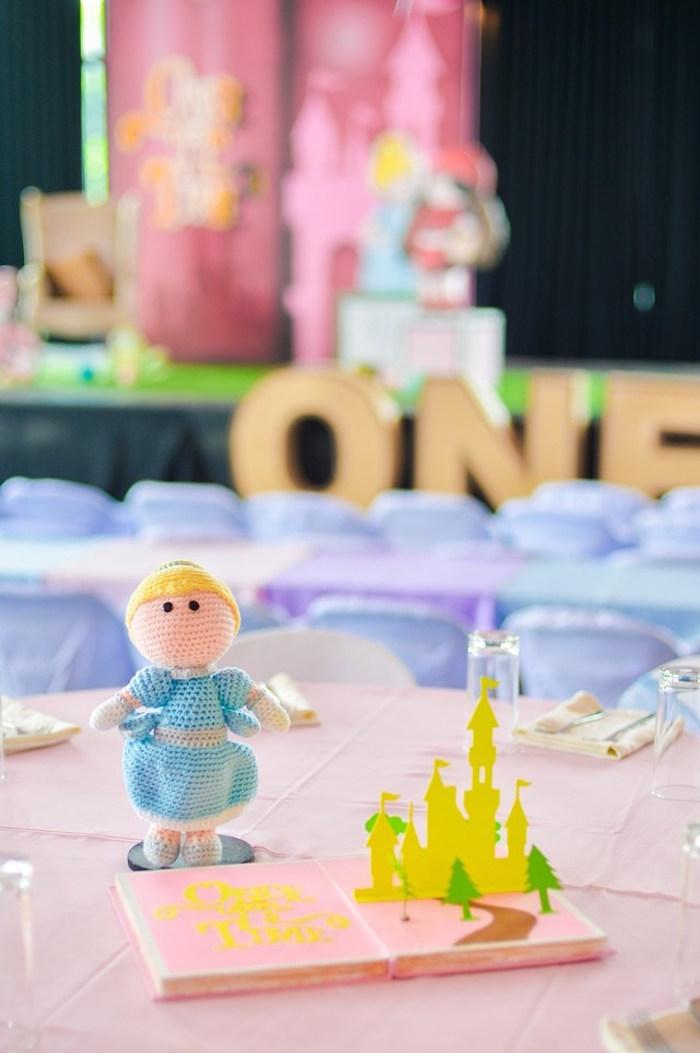 Crocheted Cinderella Doll from a Fairytale Princess Birthday Party on Kara's Party Ideas | KarasPartyIdeas.com (35)