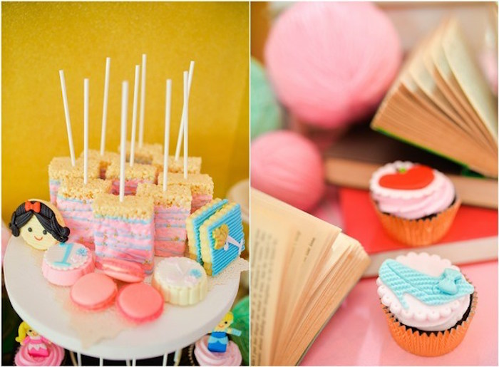 Sweets from a Fairytale Princess Birthday Party on Kara's Party Ideas | KarasPartyIdeas.com (7)