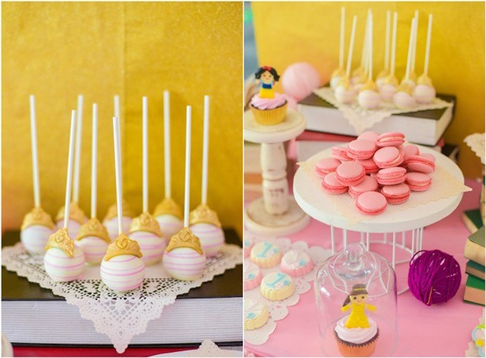 Sweets + desserts from a Fairytale Princess Birthday Party on Kara's Party Ideas | KarasPartyIdeas.com (33)