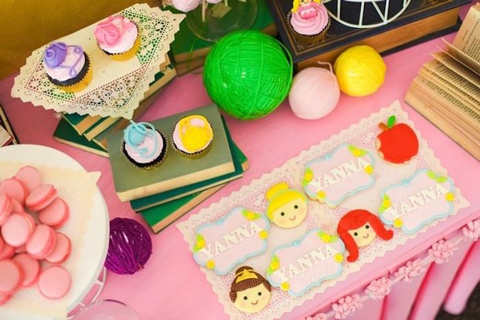 Cookies from a Fairytale Princess Birthday Party on Kara's Party Ideas | KarasPartyIdeas.com (32)