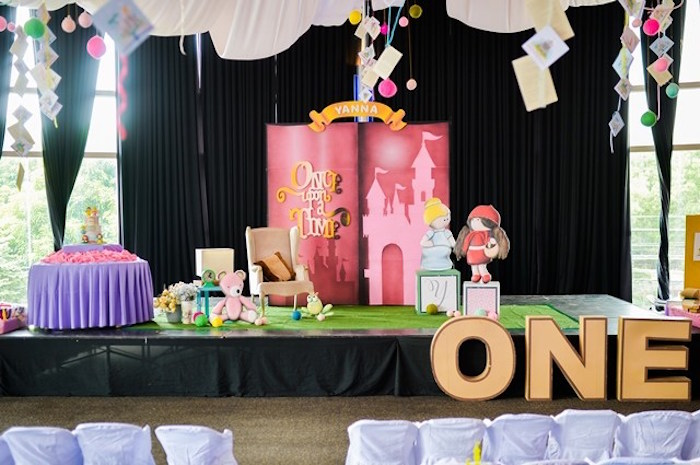 Fairytale Princess Birthday Party on Kara's Party Ideas | KarasPartyIdeas.com (28)
