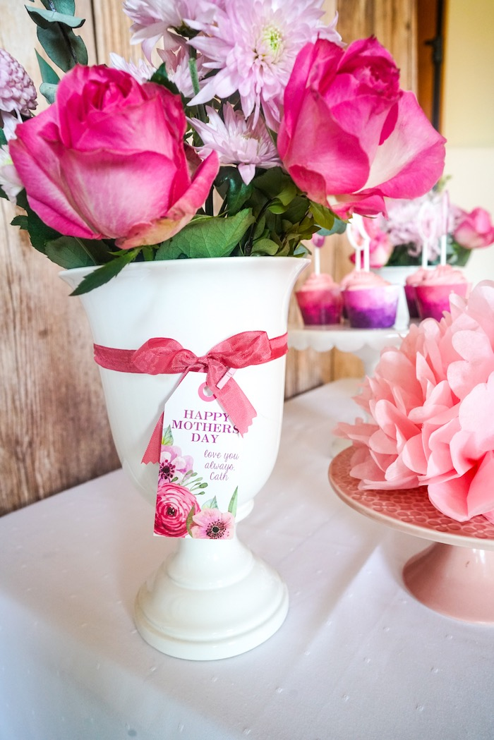 Blooms from a Floral Mother's Day Party with Free Printables on Kara's Party Ideas | KarasPartyIdeas.com (6)