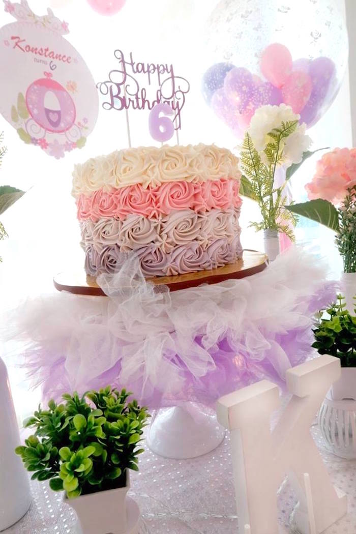 Kara S Party Ideas Floral Sofia The First Birthday Party