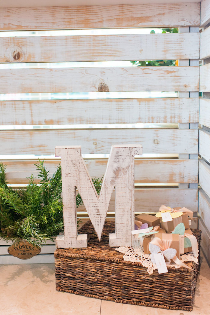 Decor from a Garden Baby Shower on Kara's Party Ideas | KarasPartyIdeas.com (21)