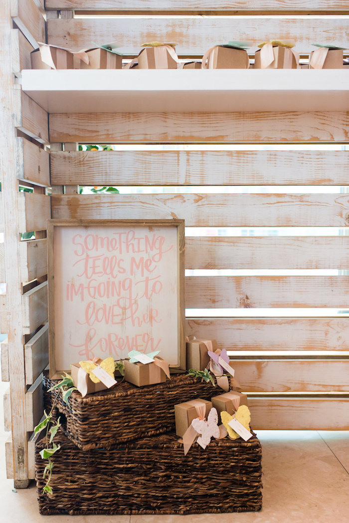 Decor from a Garden Baby Shower on Kara's Party Ideas | KarasPartyIdeas.com (20)