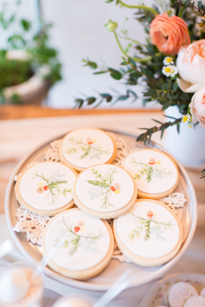Cookies from a Garden Baby Shower on Kara's Party Ideas | KarasPartyIdeas.com (17)