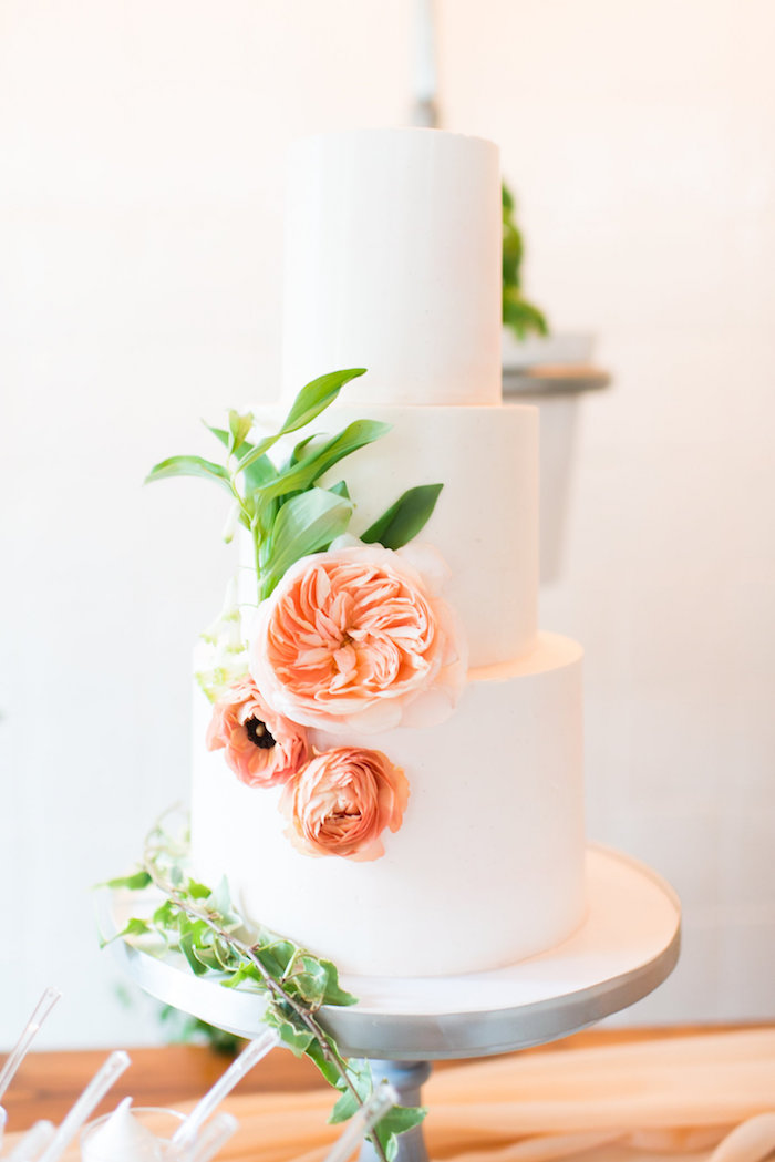 Cake from a Garden Baby Shower on Kara's Party Ideas | KarasPartyIdeas.com (8)