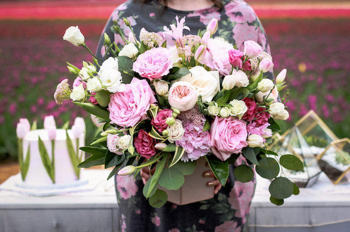 Breathtaking blooms from a Garden Breakfast Party on Kara's Party Ideas   KarasPartyIdeas.com (9)