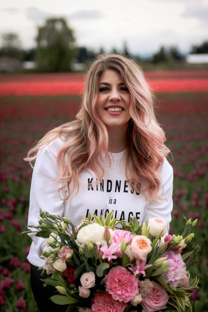 Beautiful blooms from a Garden Breakfast Party on Kara's Party Ideas   KarasPartyIdeas.com (4)