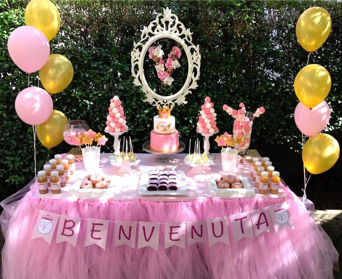 Garden Princess Birthday Party on Kara's Party Ideas | KarasPartyIdeas.com (5)
