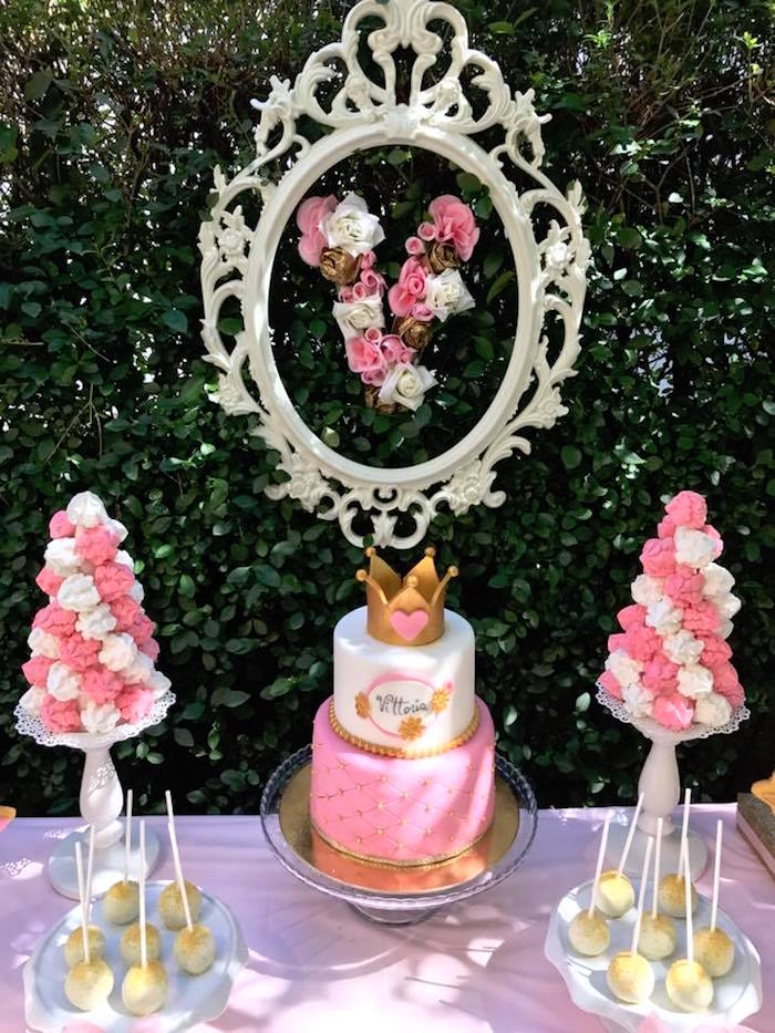 Garden Princess Birthday Party on Kara's Party Ideas | KarasPartyIdeas.com (20)