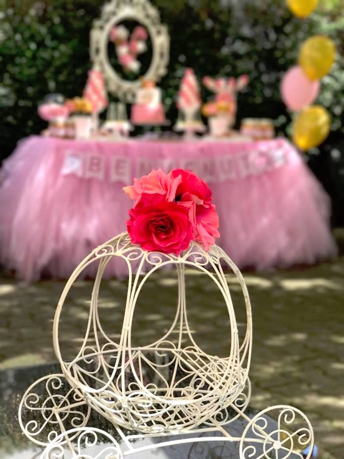 Wire carriage from a Garden Princess Birthday Party on Kara's Party Ideas | KarasPartyIdeas.com (16)