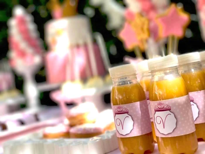Juice bottles from a Garden Princess Birthday Party on Kara's Party Ideas | KarasPartyIdeas.com (13)