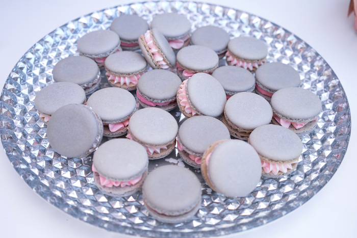 Macarons from a Glam Pop Star Birthday Party on Kara's Party Ideas | KarasPartyIdeas.com (21)
