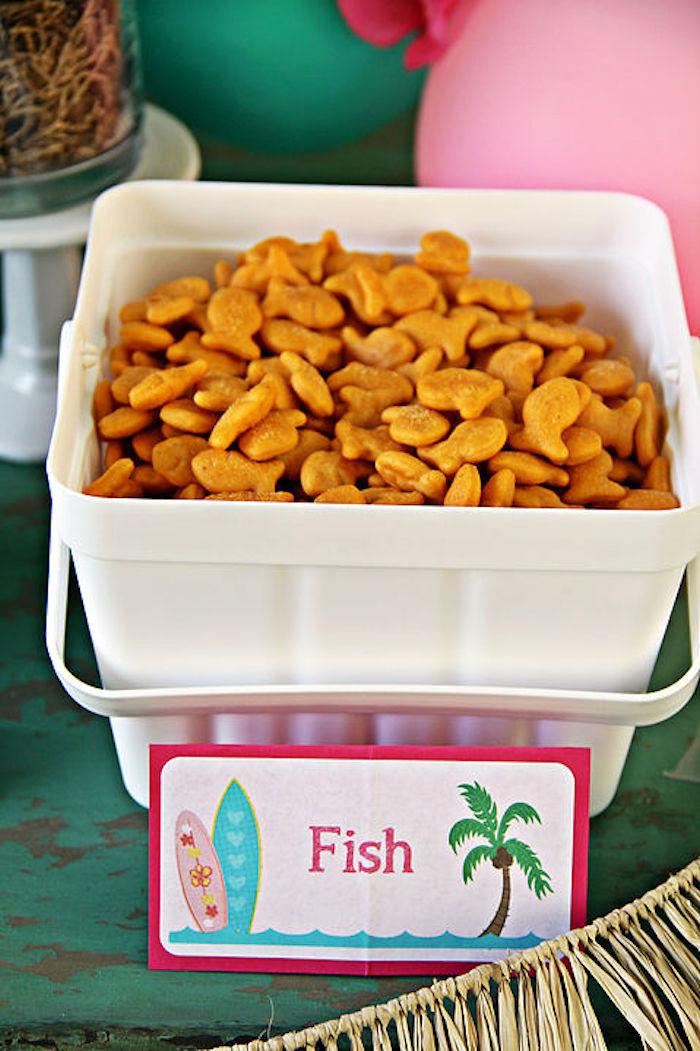Luau Pool Party Food Ideas