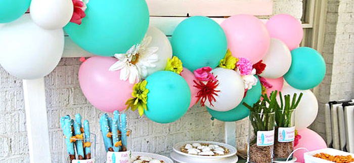 Hawaiian Luau Birthday Party on Kara's Party Ideas | KarasPartyIdeas.com (3)