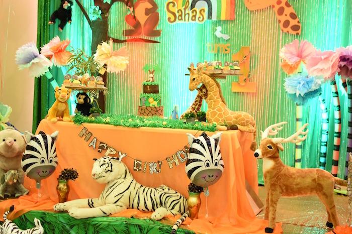 Jungle Safari Birthday Party on Kara's Party Ideas | KarasPartyIdeas.com (16)