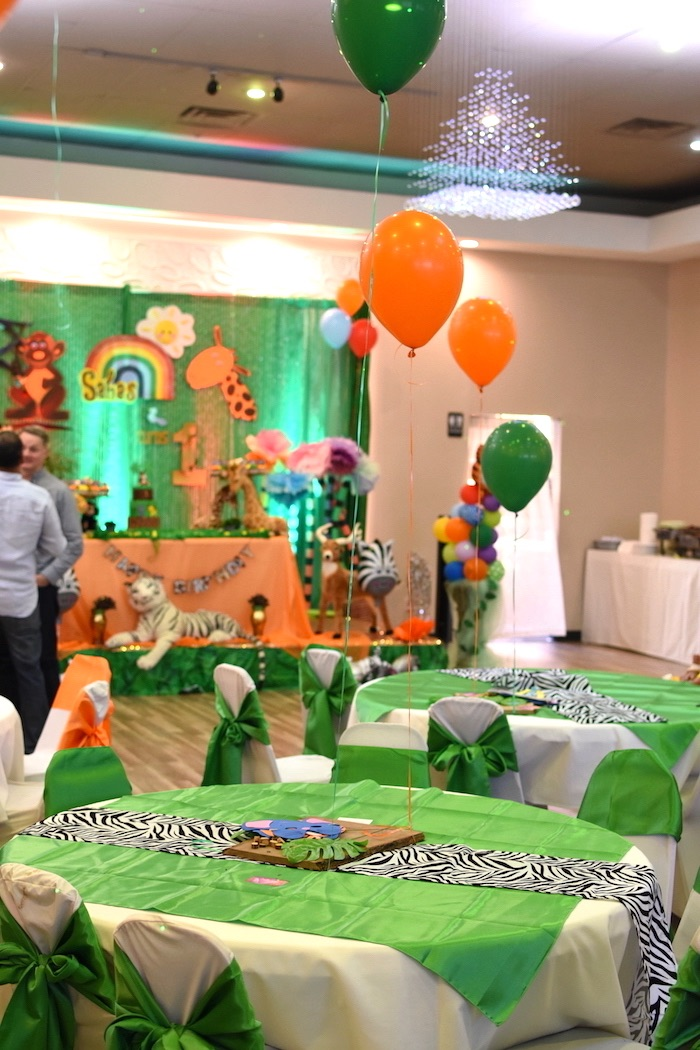 Birthday Cake Ideas Jungle Theme