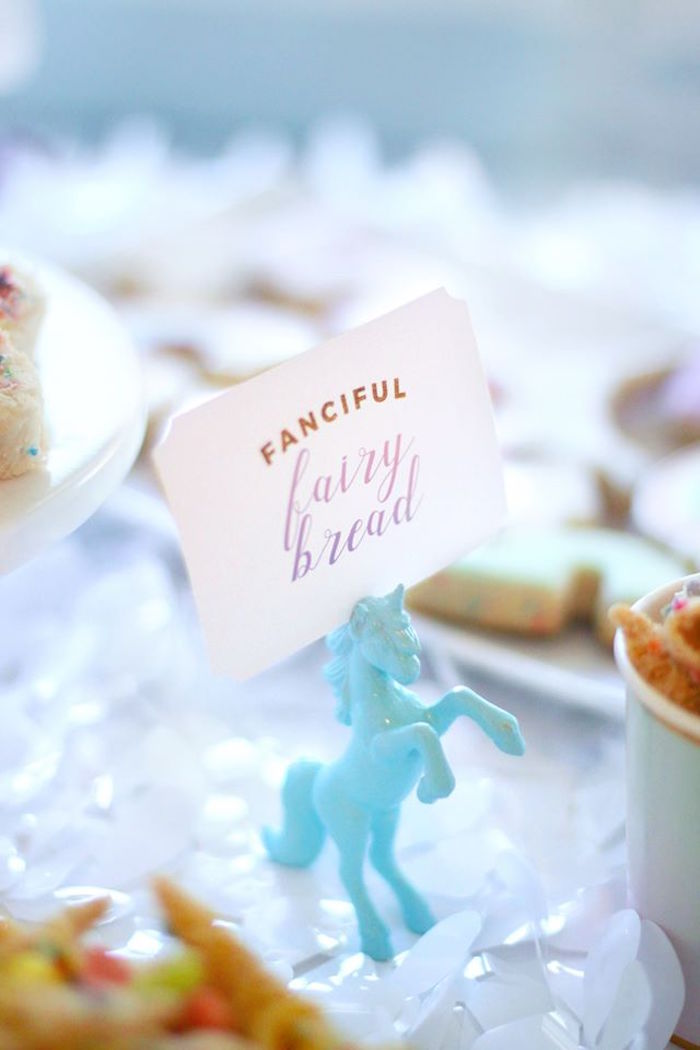 Unicorn sweet label from a Magical Unicorn Art Birthday Party on Kara's Party Ideas | KarasPartyIdeas.com (38)