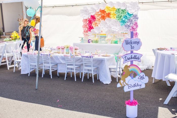 Magical Unicorn Birthday Party on Kara's Party Ideas | KarasPartyIdeas.com (13)