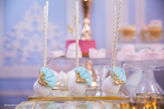 Cake pops from a Marie Antoinette Baby Shower on Kara's Party Ideas | KarasPartyIdeas.com (25)