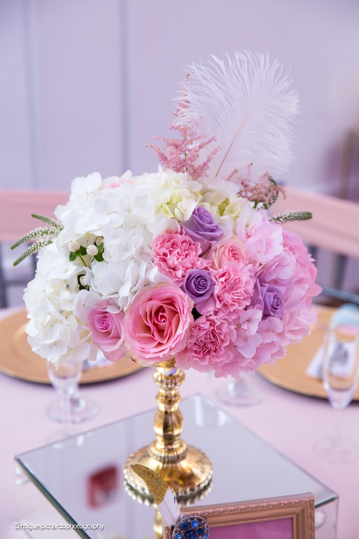 Blooms from a Marie Antoinette Baby Shower on Kara's Party Ideas | KarasPartyIdeas.com (42)