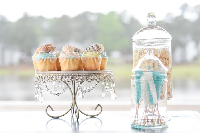Ocean Sweets from a Message in a Bottle Sea Inspired Wedding on Kara's Party Ideas | KarasPartyIdeas.com (14)