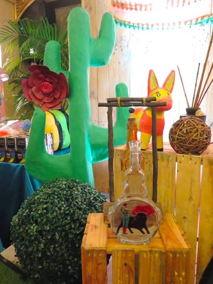 Decor from a Mexican Fiesta Birthday Party on Kara's Party Ideas | KarasPartyIdeas.com (11)