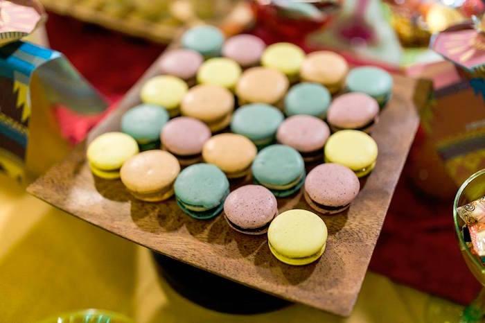 Macarons from a Mexican Fiesta Birthday Party on Kara's Party Ideas | KarasPartyIdeas.com (31)