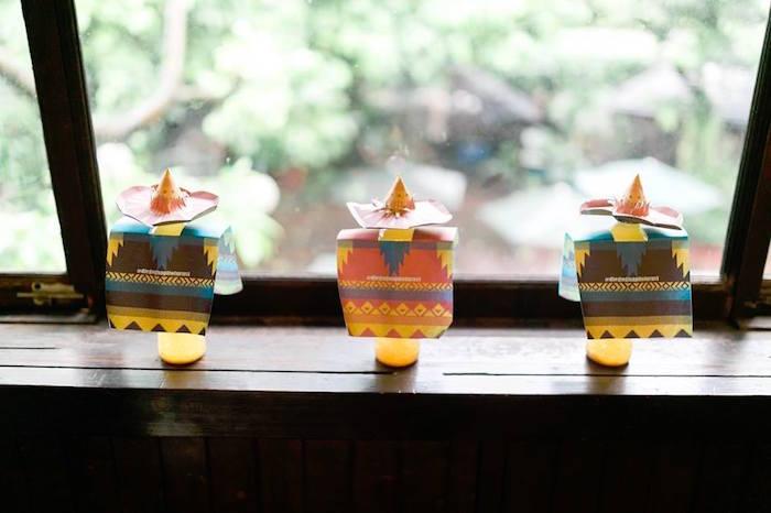 Amigo drinks from a Mexican Fiesta Birthday Party on Kara's Party Ideas | KarasPartyIdeas.com (30)