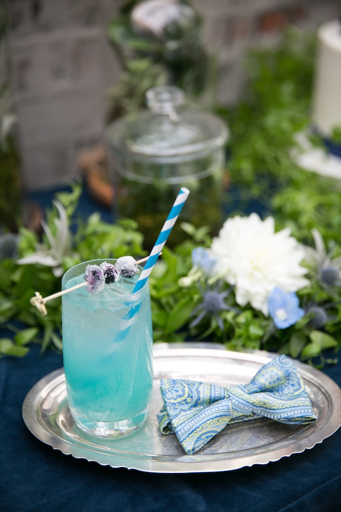 Drink from aModern Boy Baby Shower on Kara's Party Ideas | KarasPartyIdeas.com (24)