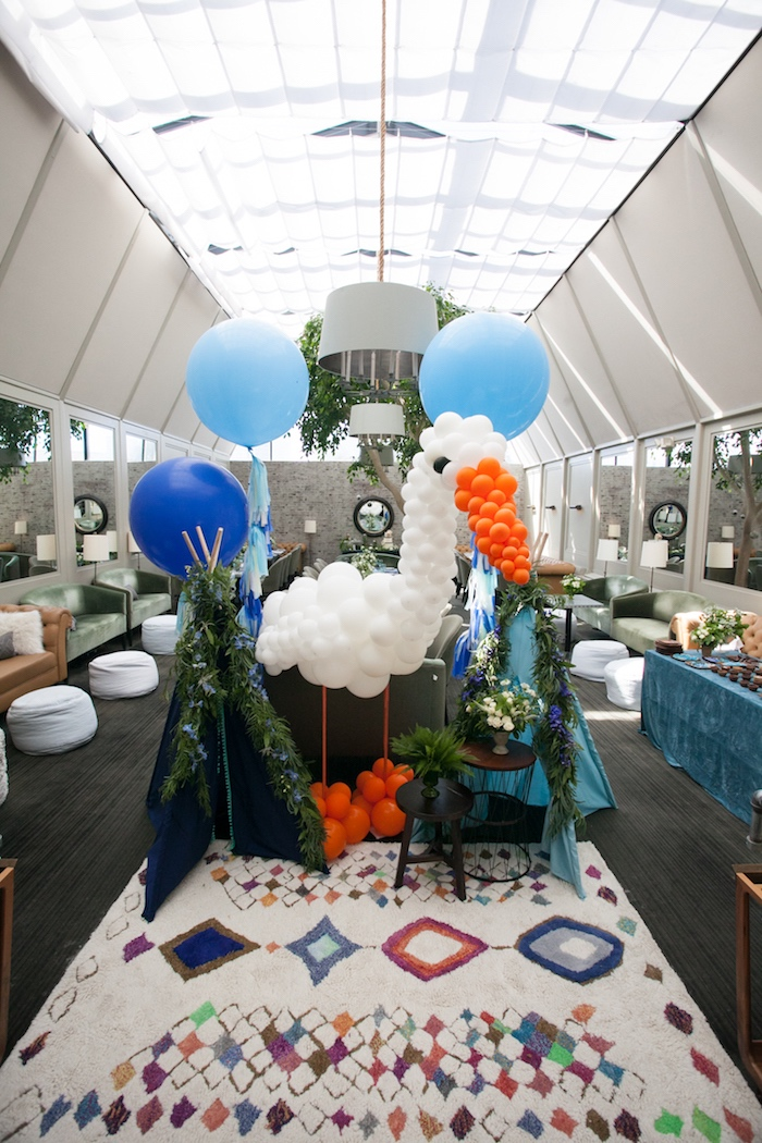 Balloons from a Modern Boy Baby Shower on Kara's Party Ideas | KarasPartyIdeas.com (36)