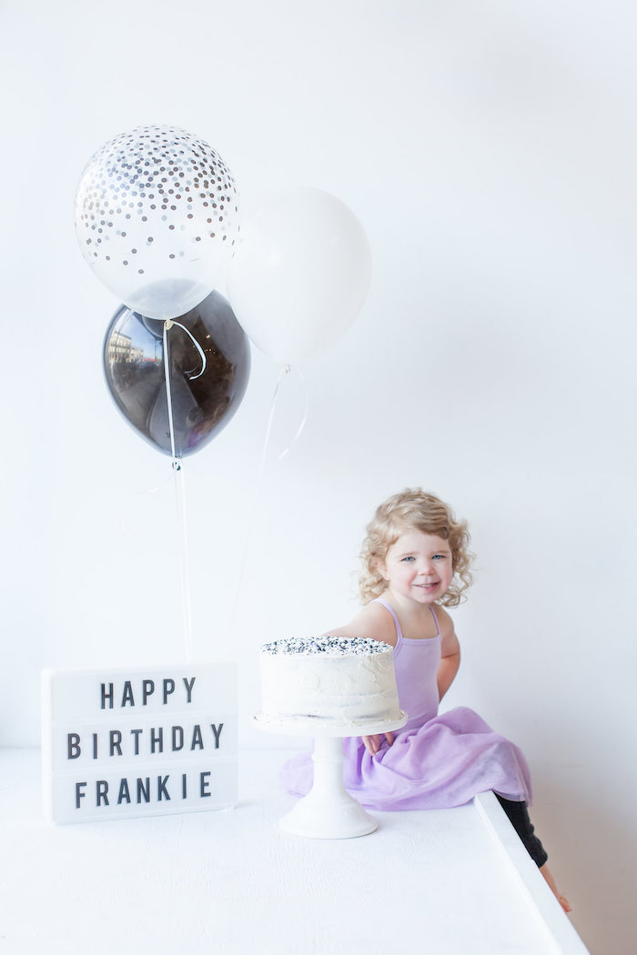 Monochromatic Just Dance Birthday Party on Kara's Party Ideas | KarasPartyIdeas.com (9)
