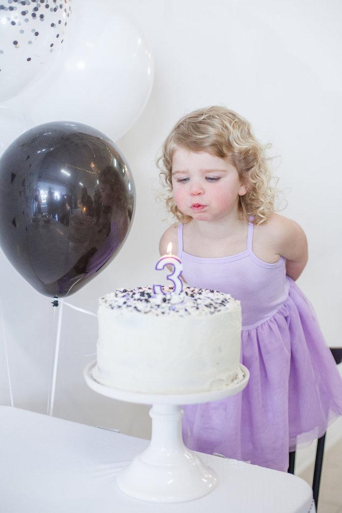 Kara S Party Ideas Monochromatic Just Dance Birthday Party